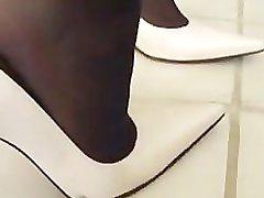 SHOEJOB SHOEJOB SHOEJOB Stuart Weitzman High Heels and Stockings