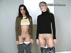 lesbian teens first video casting
