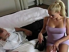Stacy gets her hot star ass creampied