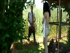 Sunny outdoor teen tear up