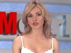 russian Moskow girl TV Natasha Volkova