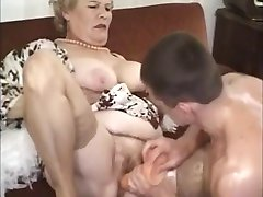 Old Mature Granny Fucked