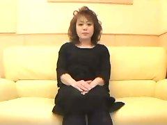 50yr stare Kosmate Japonska Babica Creamed (Necenzurirano)