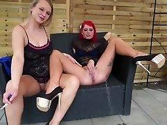 Redheads smoking