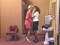 Lacy Rose & Debi Diamond : 2 Horny Pigs - 1 Strap On