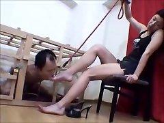 Kavez Japanski noge rob obožava svoju hostesa