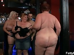 Big group bbw soiree