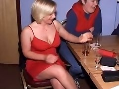 British Femmes at CFNM Stripper Party-Part1