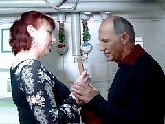 German mature redhead housewife and the plumber - Amanda