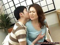 Mina Toujou marvelous mother enjoys part4