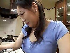 Mommy in Kitchen