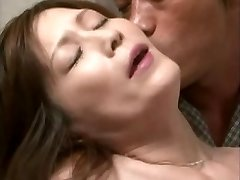 Insatiable Chinese mom seduces a pal son