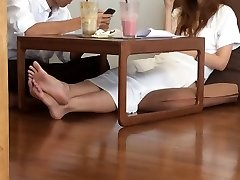 School Asian Candid Hot Feet LEGS TOES SOLES
