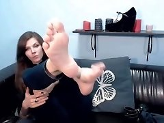 audreyorchid demonstrate feet on lj from Camshoots