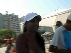 Latin ORGY Freak Festival in the slums of RIo