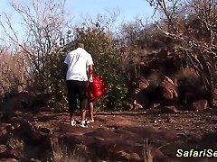 african safari threesome fuckfest