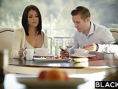 BLACKED Dark-haired Adriana Chechik Takes Trio of BBCs
