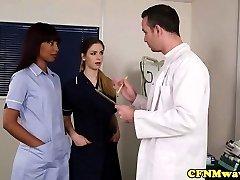 British nurse femdoms sharing subs trouser snake