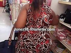Black grandma upskirt Pt 1