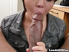 Interracial casting inexperienced pussyfucked pov
