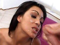 Real facial shower