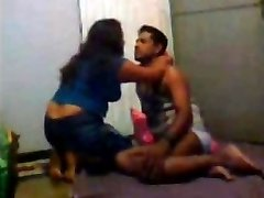 Desi Indian Wifey Three sum with Hubby and His