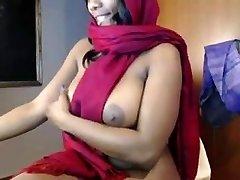 indian honey teases and masturbation on