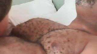 Gay ebony otter has great sex as he sucks part6