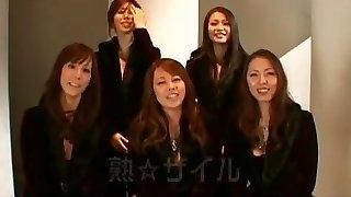 Greatest Chinese tramp Chisato Shouda, Honami Takasaka, Maki Tomada in Exotic Pissing, Femdom JAV clip