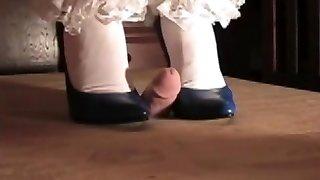 Crazy amateur High High-heeled Slippers, Amateur adult tweak