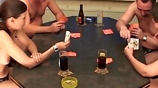 First-timer mature bisexual foursome