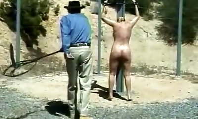Amazing homemade BDSM, Outdoor xxx movie