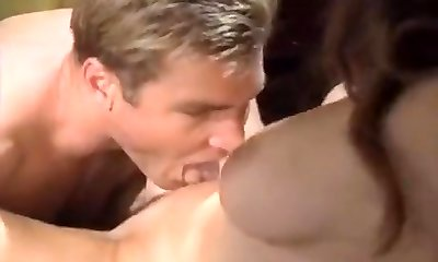 Nikki Dial, Woody Lengthy in hard office sex on classic porno