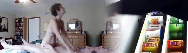 parents caught fucking on hidden web cam Trio