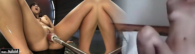 Evi Foxx gets fucked by machines