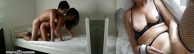 Teens in orgy tape