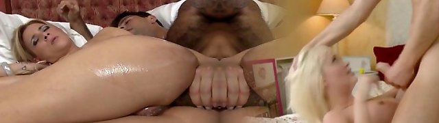 Oiled and assfucked Latina