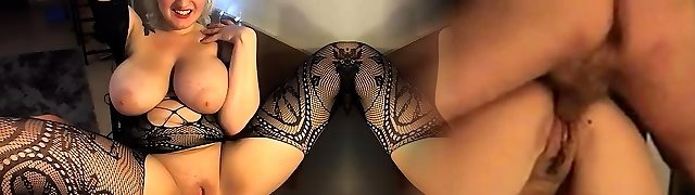 Huge boobs Abigail vicious nylon fetish