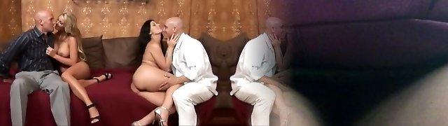 Wife Interchanging Swinger Couples