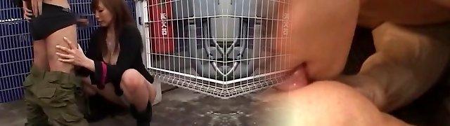 Crazy Japanese slut Ruru Anoa in Exotic Outdoor, Pov JAV clip