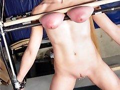 sexual gimp tit fucking torture