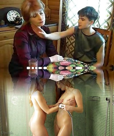Teen guy steaming fucking yummy mom