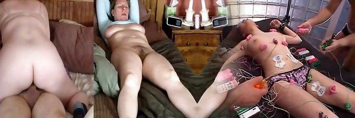 Wifey rides and orgasm