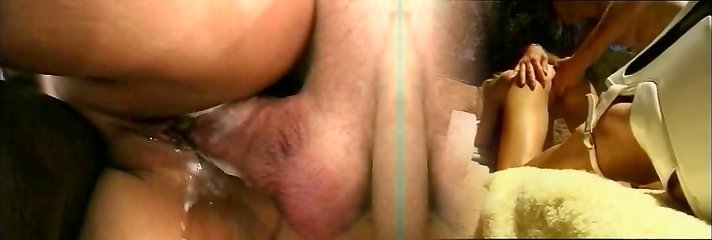 Cake met slut has her tight pussy licked and penetrated by enormous cock on the floor
