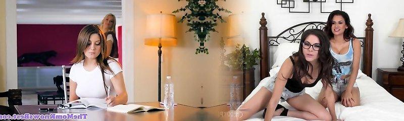 Sarah Vandella pussyfingering Jojo Kiss