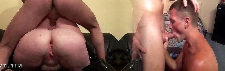 BBW mom rigid anal pounded and double knuckle fucked in FFM