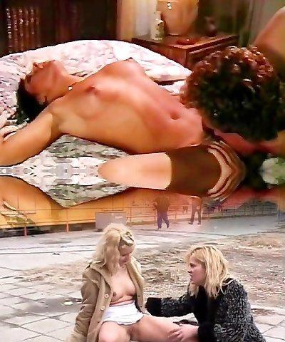 Hyapatia Lee, Joey Silvera in explosive orgasms in super hot antique erotica
