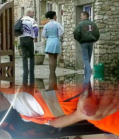Debora Coeur - German Maid penetrated by Stranger