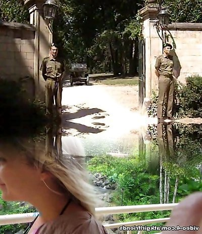 Lisa Crawford- Soldiers tear up the G�n�ral Wife
