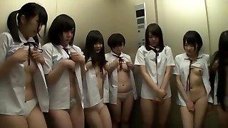 Schoolgirl tube japanese 1960s S&M